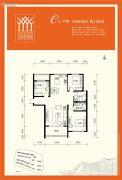 金泰舒格�m3室2厅2卫120平方米户型图