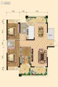 中正 桂花庄园3室2厅2卫145平方米户型图