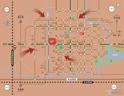 仙居新城吾悦广场交通图