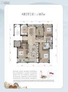 和家园・雍园4室2厅2卫0平方米户型图