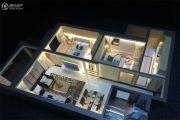 远达锦绣半岛2室2厅1卫92平方米户型图