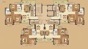 阳江恒大悦龙府3室2厅2卫121--120平方米户型图