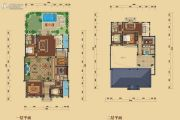 绿城悦庄5室3厅6卫648平方米户型图