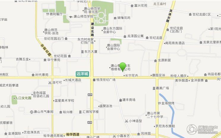 丰宁锦苑交通图