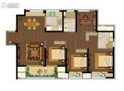 融创玉兰公馆4室2厅2卫135平方米户型图