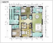 龙湖��廷5室2厅4卫0平方米户型图