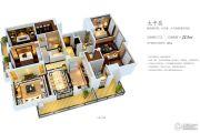 金域华城・观景府5室2厅3卫213平方米户型图
