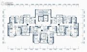 东莞恒大滨江左岸4室2厅2卫133平方米户型图