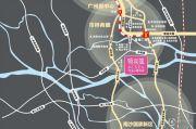 越秀可逸江畔交通图