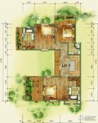 鲁能海蓝福源3室2厅2卫0平方米户型图