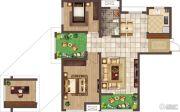 荣邦城3室2厅1卫0平方米户型图