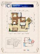 邦泰・国际社区(北区)4室2厅2卫97--118平方米户型图