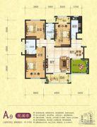 梦幻谷・�|方�A府3室2厅2卫129平方米户型图