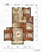 万年・园博墅4室2厅2卫180平方米户型图