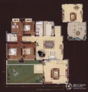 嘉城尚郡3室2厅2卫165平方米户型图