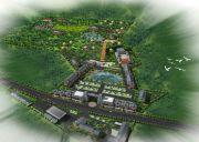 清华洞旅游古镇规划图