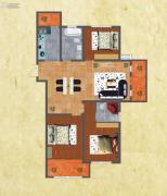 友谊嘉御龙庭3室2厅2卫125--135平方米户型图