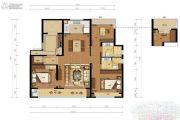 甲第十七3室2厅2卫115平方米户型图