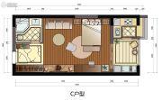 班芙春天1室1厅1卫0平方米户型图