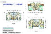 利川碧桂园5室2厅2卫240平方米户型图