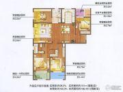 朗诗绿色街区4室2厅2卫139平方米户型图