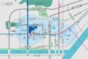 海尔地产国际广场交通图