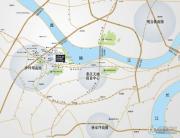 财信沙滨城市交通图