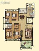 壹品湾4室2厅3卫189平方米户型图