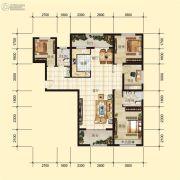 星河上城4室2厅2卫0平方米户型图