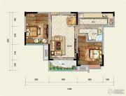 凤凰星城2室2厅1卫90--95平方米户型图