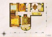 东方夏威夷3室2厅2卫107平方米户型图