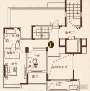 彩虹湖4室2厅2卫245平方米户型图
