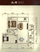 瑞鼎嘉城2室2厅1卫85--86平方米户型图