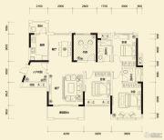 方直东岸3室2厅2卫123平方米户型图