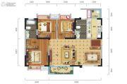 中港CCPARK3室2厅2卫108平方米户型图
