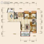 东星・熙城3室2厅3卫118--119平方米户型图