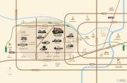 朗诗新西郊交通图