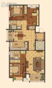 莱蒙顺泽・水榭花城3室2厅2卫130平方米户型图