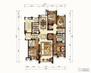 华润公元九里4室2厅3卫219平方米户型图