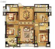 长乐阳光城翡丽湾4室2厅2卫125平方米户型图