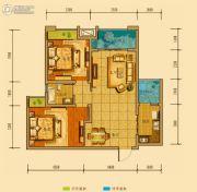金鸿城三期归谷2室2厅1卫79平方米户型图