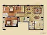 远洋国际中心2室2厅4卫224平方米户型图