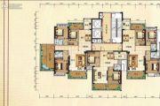 兴业花园2室2厅1卫87平方米户型图
