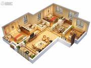 中央广场2室1厅1卫0平方米户型图