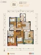 华润・中央公园4室2厅2卫128平方米户型图