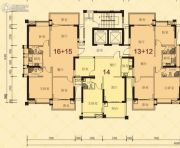 龙光・尚悦轩3室2厅2卫80--125平方米户型图