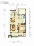 佳源・名人国际花园3室2厅2卫135平方米户型图