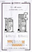 世和・天玺国际中心2室2厅2卫0平方米户型图