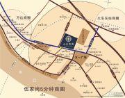 山水华庭交通图