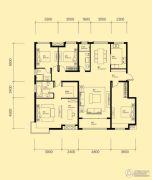 米兰国际4室2厅3卫186平方米户型图